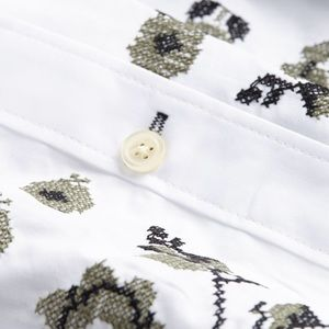 🌿 NWT $198 Kate Spade embroidered floral top cute